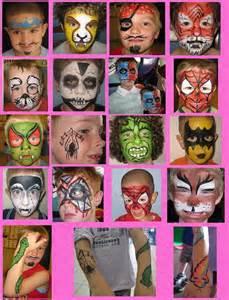 Easy Boy Face Painting Ideas