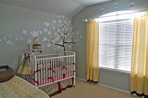 tree wall stencil traditional nursery restoration With kitchen colors with white cabinets with cocalo jacana wall art