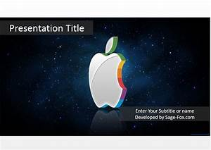 free striped apple powerpoint template 4073 sagefox With power point templates for mac