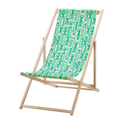 chaises de plage mysingsö chaise de plage vert ikea
