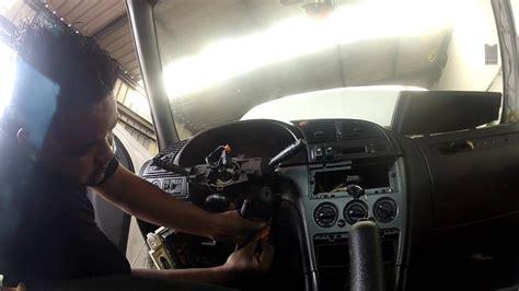 citroen xsara phase  demontage des commodos du volant