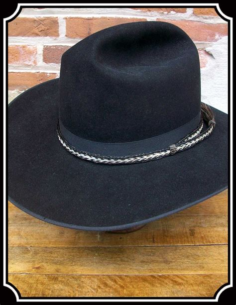 west horsehair hat band