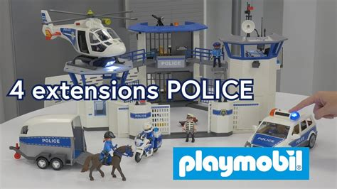 playmobil  extensions police