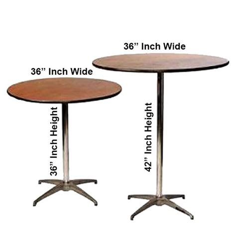 round high top table 36 inch high top table rentals in miami