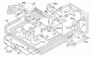Club  48 Volt And 3 10 Horsepower  Diagram  Switches
