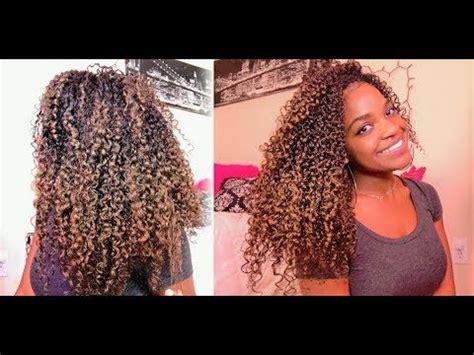 colored  natural hair gold blonde mofajang hair