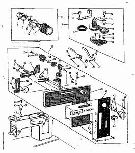 Kenmore Model 158140 Mechanical Sewing Machines Genuine Parts