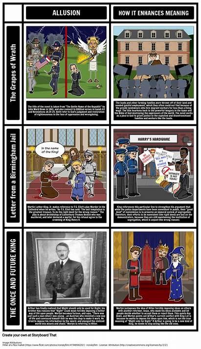 Allusions Examples Literary Example Allusion Literature Definition