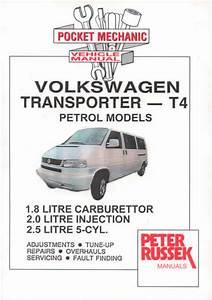 Workshop Manual Vw Transporter Bus T4 Petrol 1996