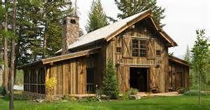 shed style homes montana mountain retreat heritage restorations