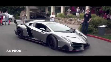 Lamborghini Veneno Vs Bugatti Veyron [ Full Hd / مـقارنـة