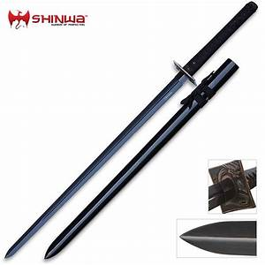 Shinwa Zatoichi Black Sword Damascus