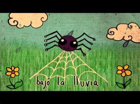 itsy bitsy spider  spanish la itzi bitzi arana