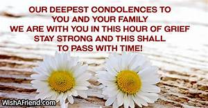 Sympathy Messages For Loss Of Husband - Page 3