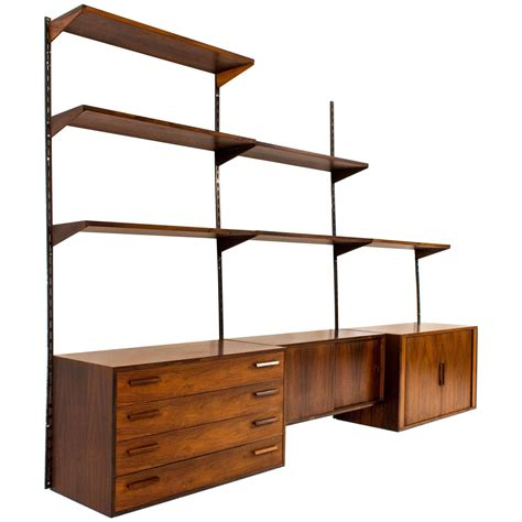 Mounted Shelving Unit by Stylish Wall Mounted Shelving Unit By Kristiansen For