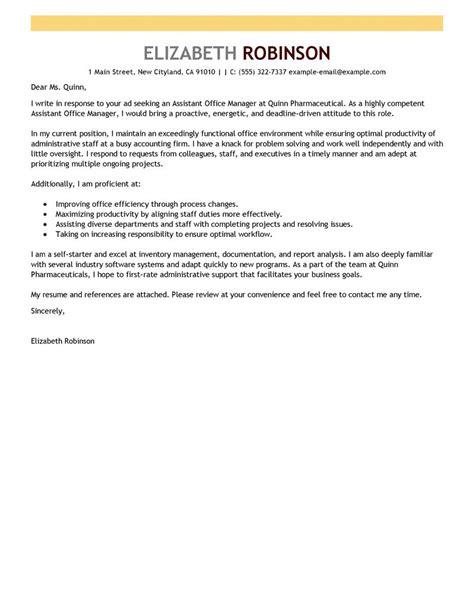 Administration Support Officer Cover Letter Best Cover Letter Exles Livecareer