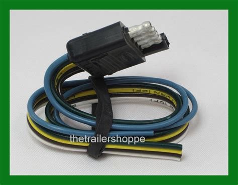 2 Pole Wire Harnes by Trailer End Light Wiring Harness Bonded Flat 5 Way Pole