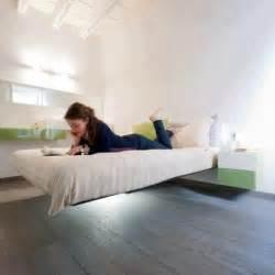 floating bed frame fancy deco com