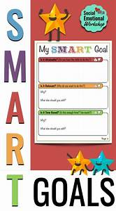 Smart Goals  Activities To Set Goals  Monitor  And Reflect