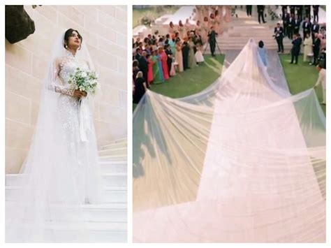 Priyanka Chopra Wedding Dress : Priyanka Chopra Opens Her Beautiful White Wedding Dress
