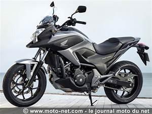Moto Honda Automatique : tous les tests essai nouvelle nc750x dct le trail honda se bonifie ~ Medecine-chirurgie-esthetiques.com Avis de Voitures