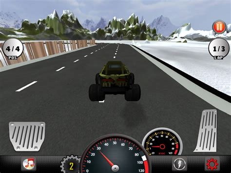 3d Monster Truck Racing Android Apps On Google Play