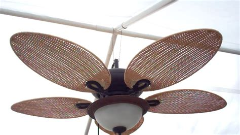 outdoor plug in fan rigging up a gazebo ceiling fan youtube