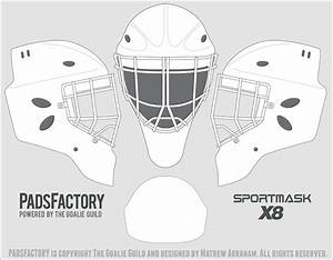 search results for bauer goalie mask template calendar With bauer goalie mask template