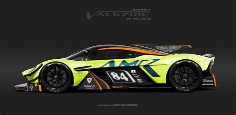 rendering  track  version   aston martin