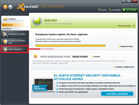 Descarga Programas Full Gratis : Antivirus Avast Full