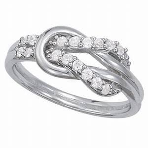 love knot diamond rings wedding promise diamond With love knot wedding ring