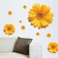מוצר  Free Shipping 1set Yellow Flowers Decorative