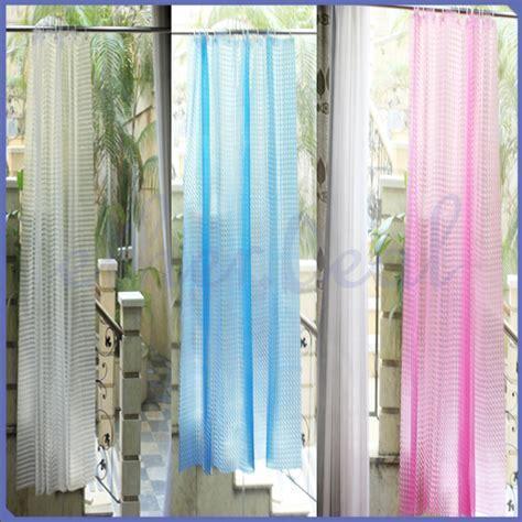 Duschvorhang Blau Weiß by Weiss Blau Pink Peva Duschvorhang 12 Duschvorhangringe