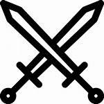 Espadas Swords Schwerter Iconos Svg Gratis Armas