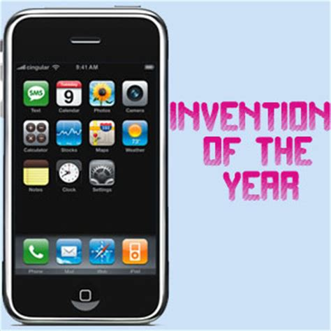 when was the iphone invented iphone wins invention of the year by time magazine
