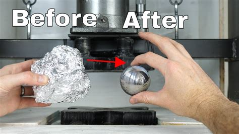 mirror polished japanese foil ball challenge crushed