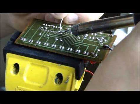 How Solder Circuit Board Youtube