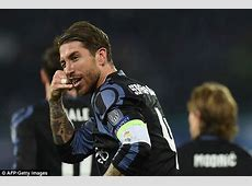 Real Madrid's Sergio Ramos 'call me' celebration is mine
