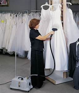 drycleaning your dress before your wedding day With wedding dress steaming