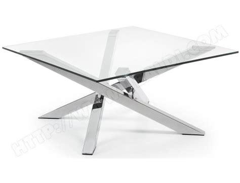 canapé bi matière table basse lf mikado table basse verre et acier chromé
