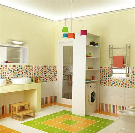 cute  colorful kids bathroom ideas   entice