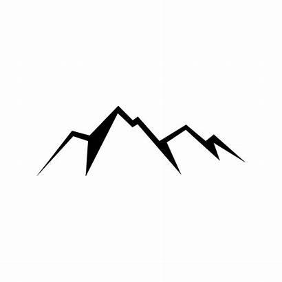 Mountain Mountains Transparent Clip Clipart Simple Range