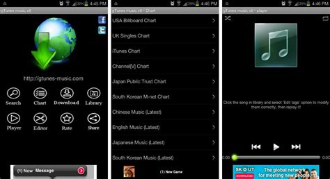 Smaller catalog of songs than itunes. Best music and MP3 downloader apps for Android