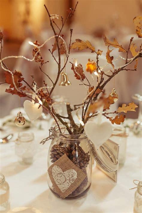 Herbstliche Tischdeko Selbermachen by Tischdekoration Hochzeit 88 Einzigartige Ideen F 252 R Ihr