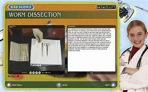 Worm Dissection By Kid Science