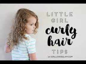 girl curly hair tips youtube