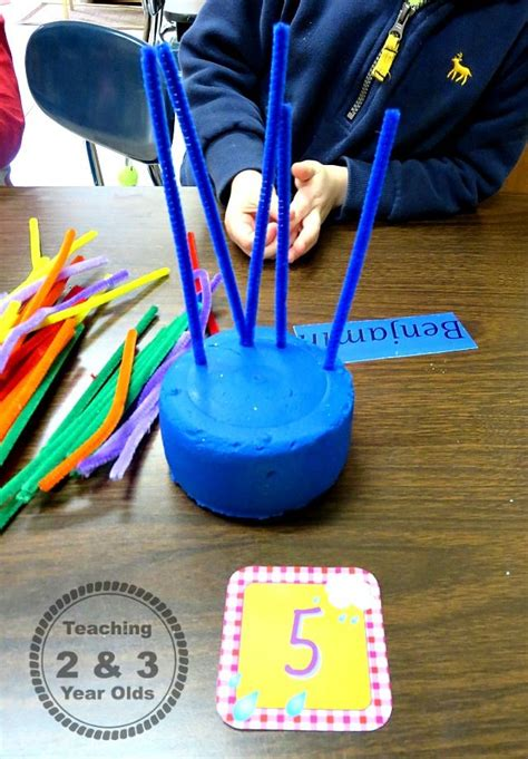 small groups  preschool color  number recognition