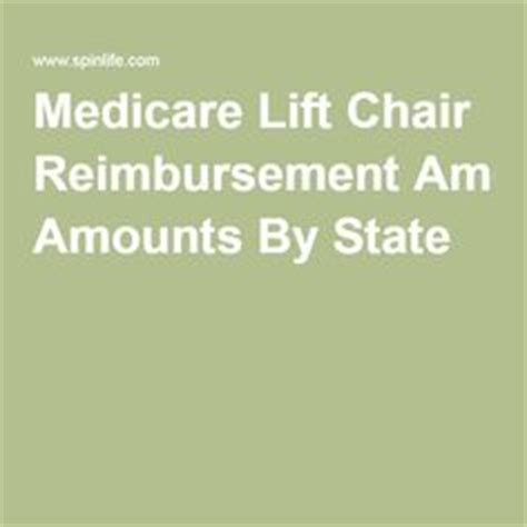 Lift Chair Medicare Reimbursement by 1000 Images About Elder Care On Caregiver