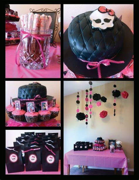 Monster High Birthday Party Ideas Freaky Just Got