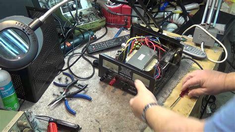 pyramid linear power supply repair youtube